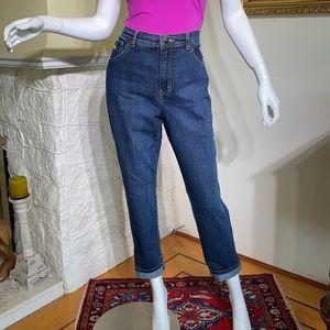 Gloria Vanderbilt Amanda High Rise Taper Mom Jeans
